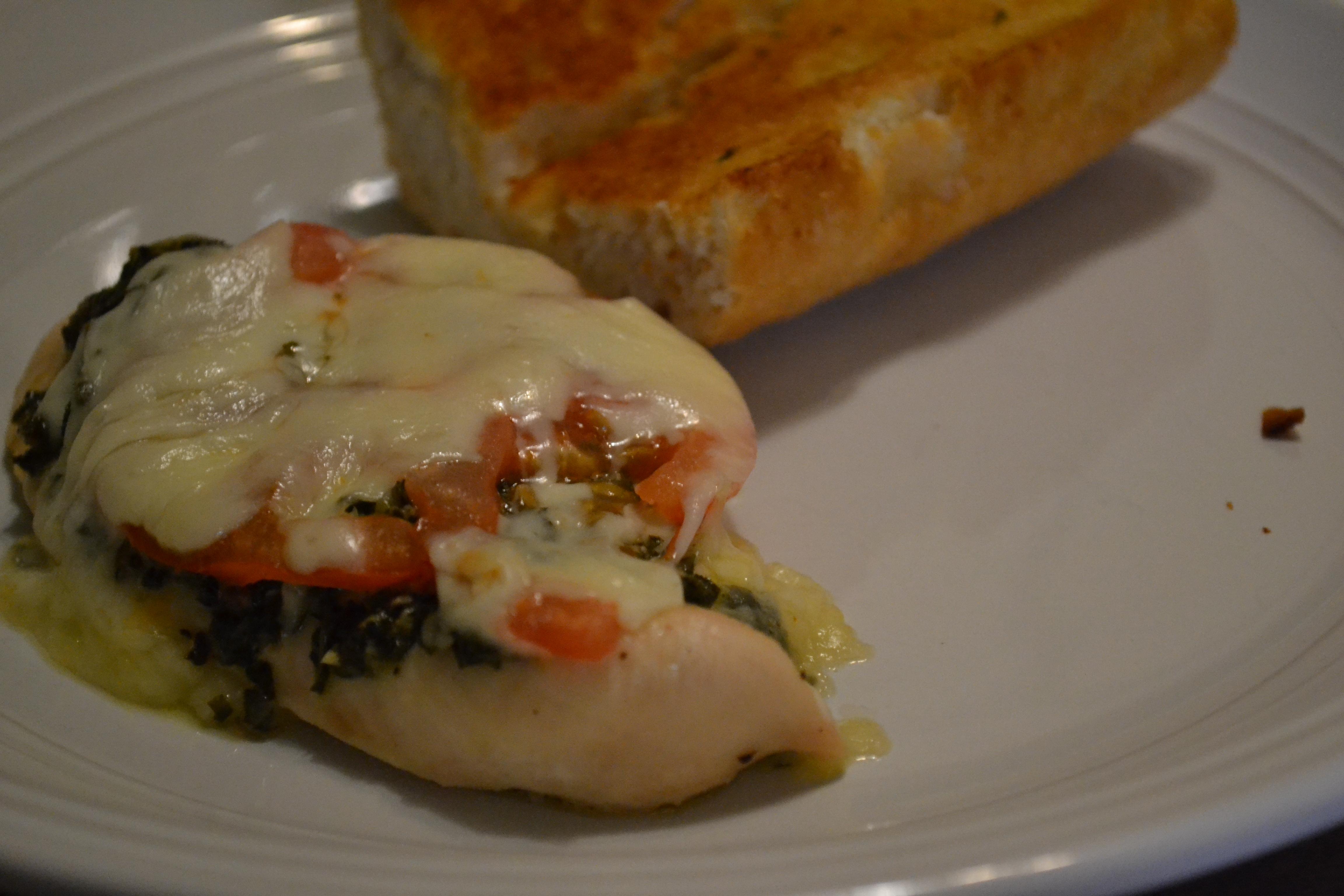 Skinny Chicken Pesto Bake | The Wellesley Girl